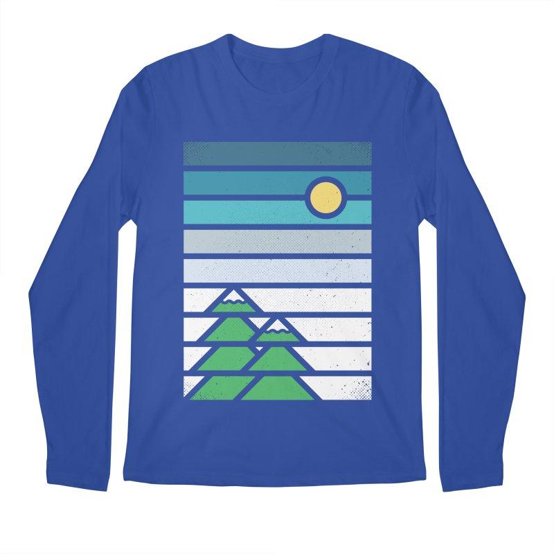 Alpine Sun Men's Regular Longsleeve T-Shirt by heavyhand's Artist Shop