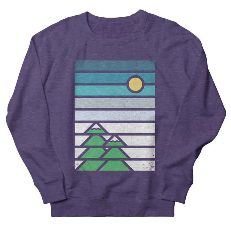 Alpine Sun Men's French Terry Sweatshirt by heavyhand's Artist Shop
