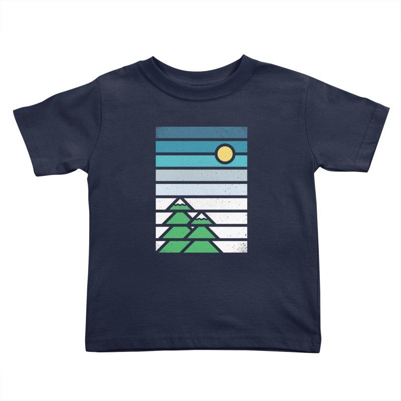 Alpine Sun Kids Toddler T-Shirt by heavyhand's Artist Shop
