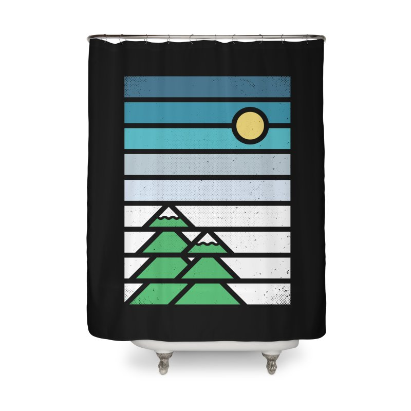 Alpine Sun Home Shower Curtain by heavyhand's Artist Shop