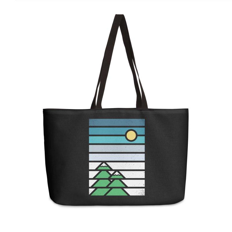 Alpine Sun Accessories Weekender Bag Bag by heavyhand's Artist Shop