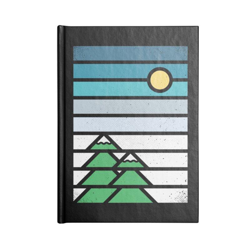 Alpine Sun Accessories Blank Journal Notebook by heavyhand's Artist Shop