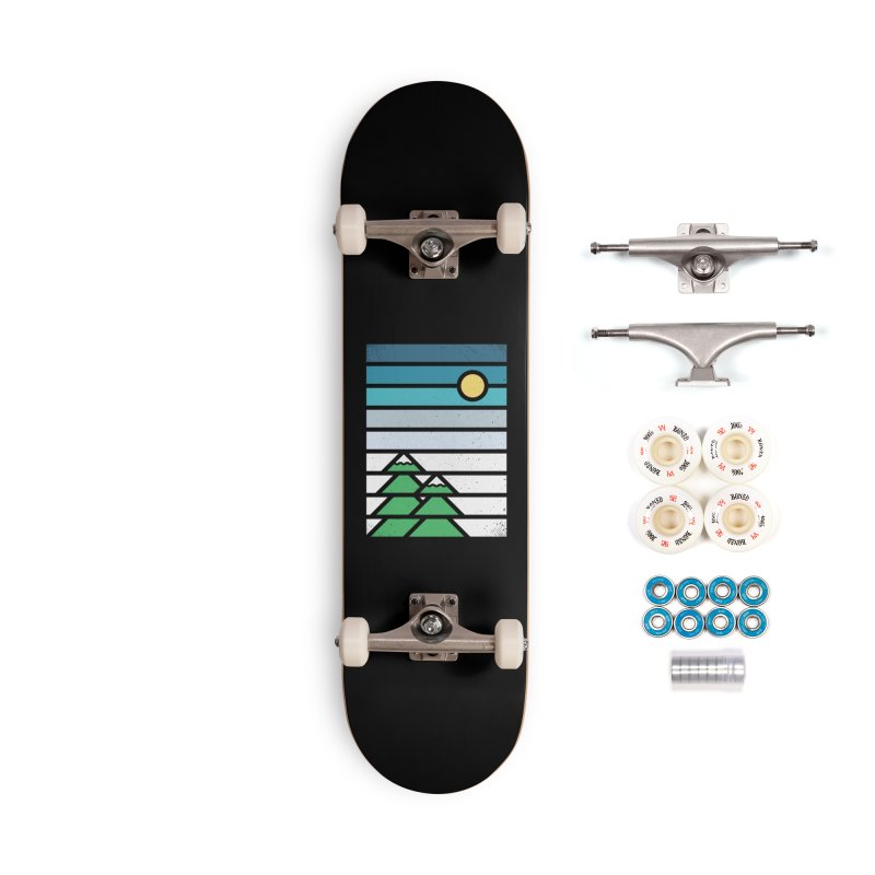 Alpine Sun Accessories Complete - Premium Skateboard by heavyhand's Artist Shop