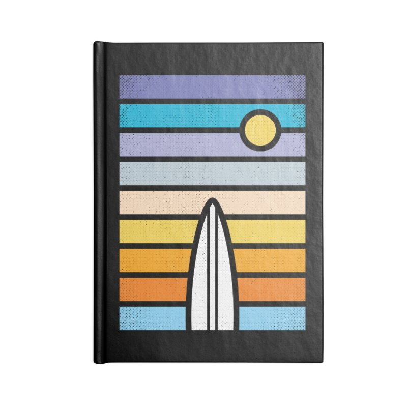 Surfs Up Accessories Blank Journal Notebook by heavyhand's Artist Shop