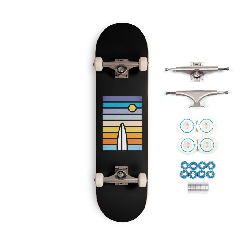 Surfs Up Accessories Complete - Basic Skateboard by heavyhand's Artist Shop