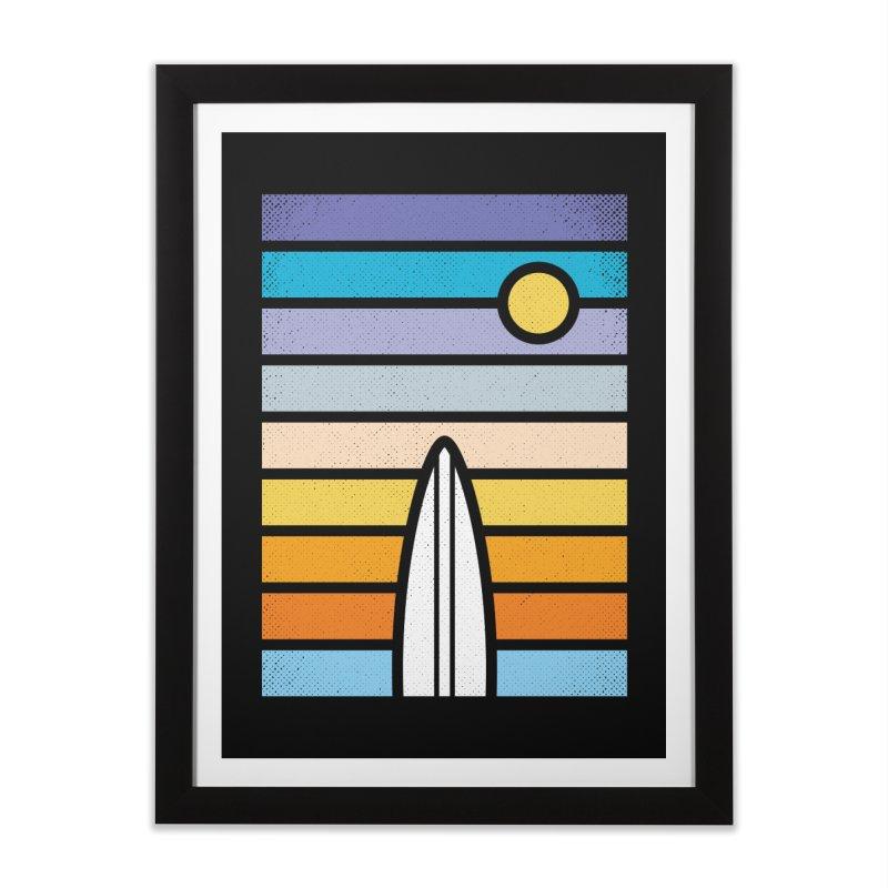 Surfs Up Home Framed Fine Art Print by heavyhand's Artist Shop