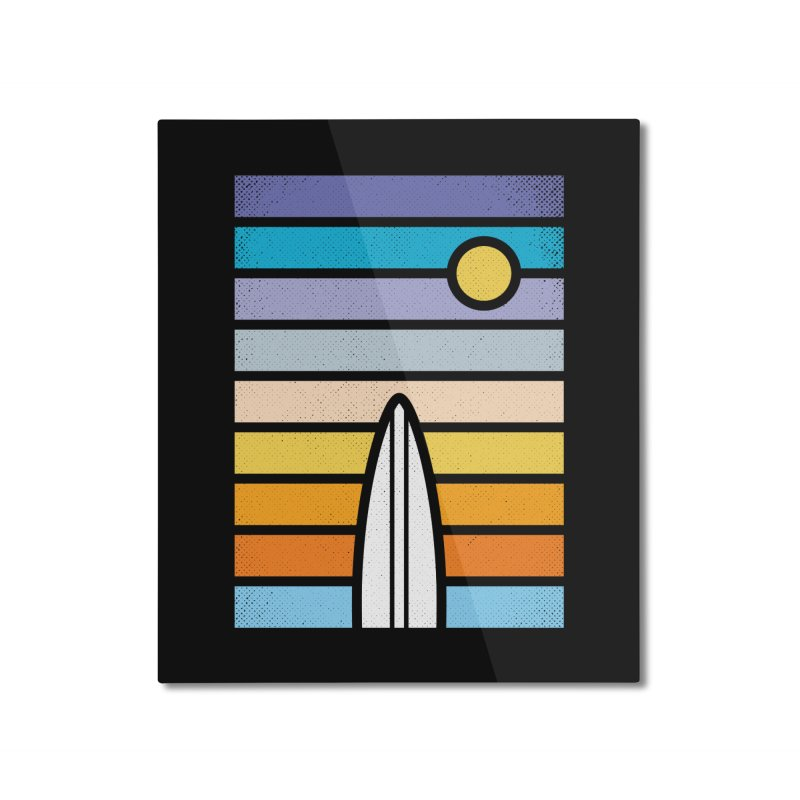 Surfs Up Home Mounted Aluminum Print by heavyhand's Artist Shop