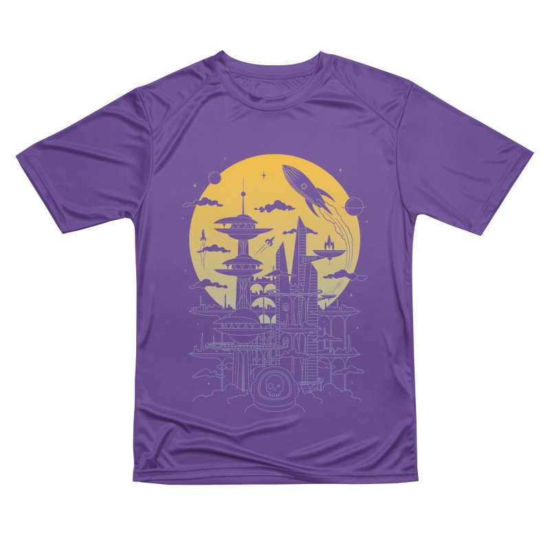 Solar City Men's Performance T-Shirt by heavyhand's Artist Shop