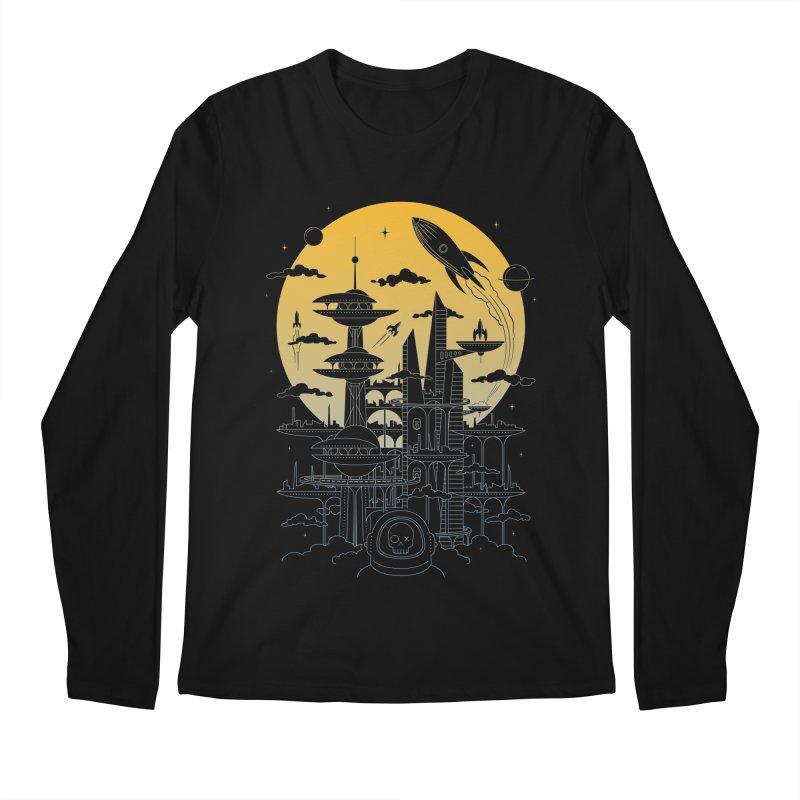 Solar City Men's Regular Longsleeve T-Shirt by heavyhand's Artist Shop