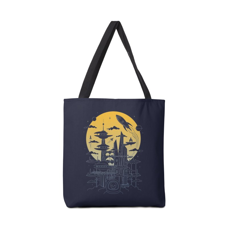Solar City Accessories Tote Bag Bag by heavyhand's Artist Shop