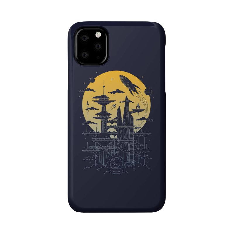 Solar City Accessories Phone Case by heavyhand's Artist Shop