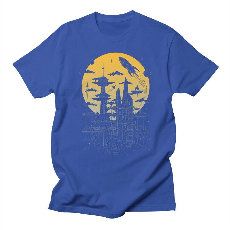 Solar City Men's T-Shirt by heavyhand's Artist Shop