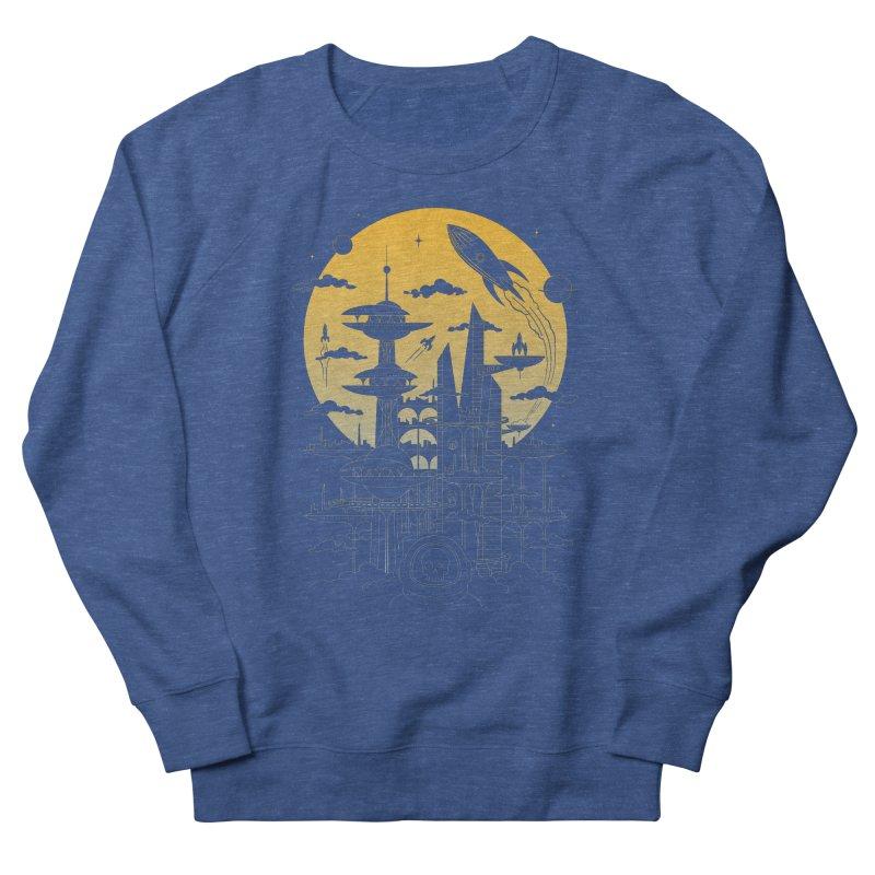 Solar City Men's Sweatshirt by heavyhand's Artist Shop