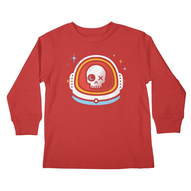 Vision of the Moon and Stars Kids Longsleeve T-Shirt by heavyhand's Artist Shop