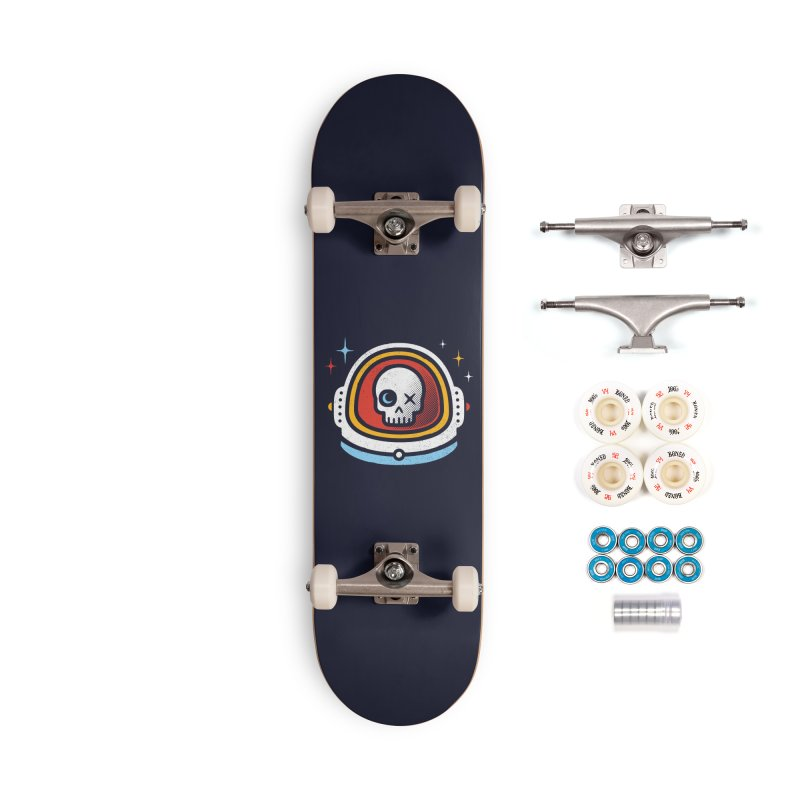 Vision of the Moon and Stars Accessories Complete - Premium Skateboard by heavyhand's Artist Shop