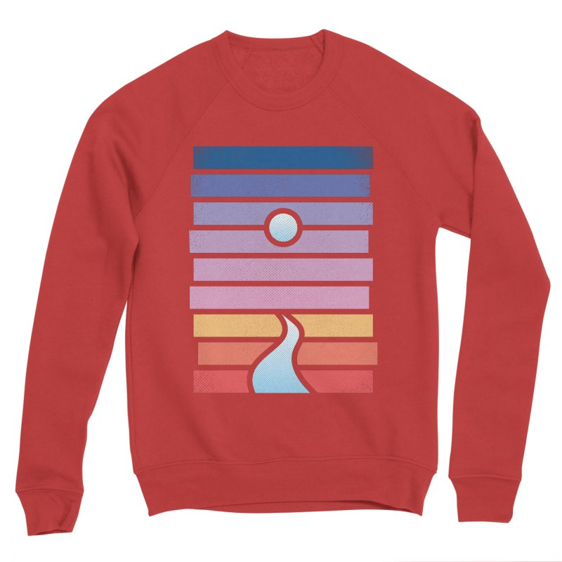 Moon. River. Women's Sponge Fleece Sweatshirt by heavyhand's Artist Shop