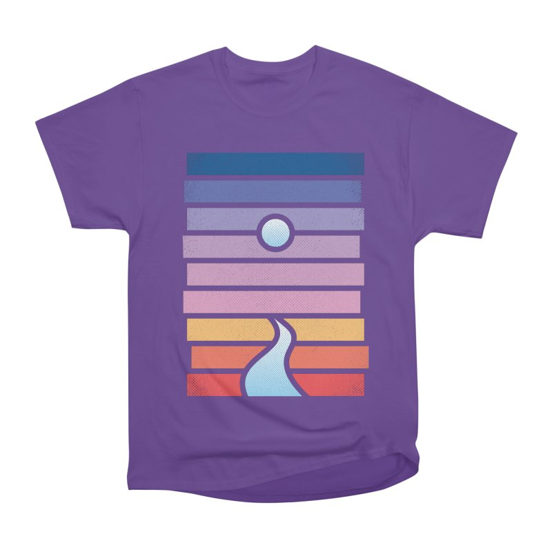Moon. River. Women's Heavyweight Unisex T-Shirt by heavyhand's Artist Shop