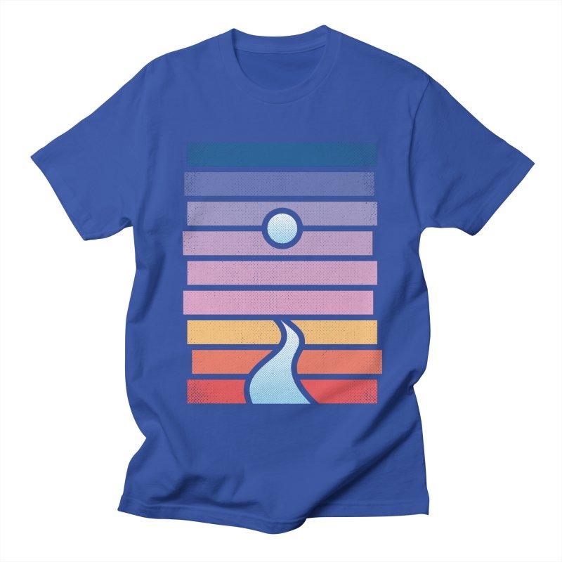 Moon. River. Women's Regular Unisex T-Shirt by heavyhand's Artist Shop