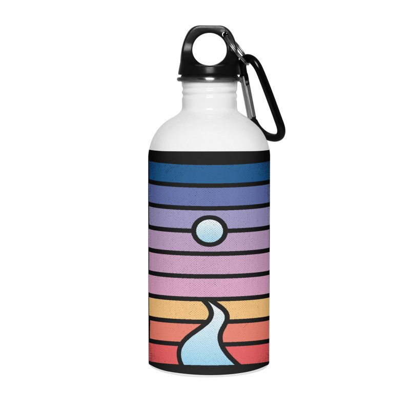 Moon. River. Accessories Water Bottle by heavyhand's Artist Shop
