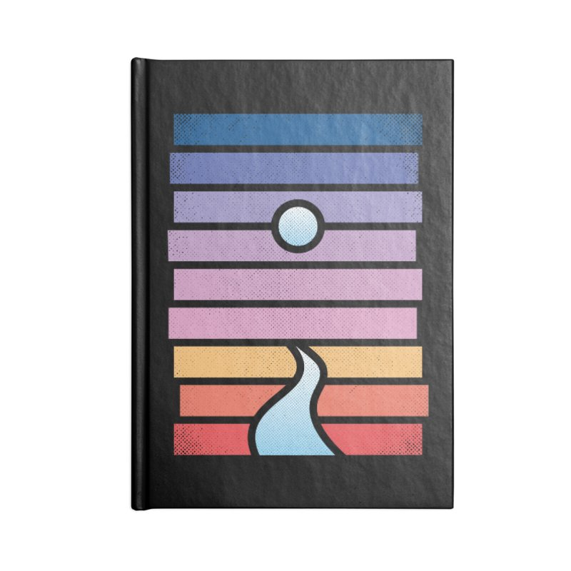 Moon. River. Accessories Blank Journal Notebook by heavyhand's Artist Shop