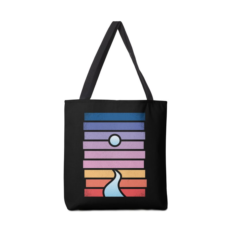 Moon. River. Accessories Tote Bag Bag by heavyhand's Artist Shop