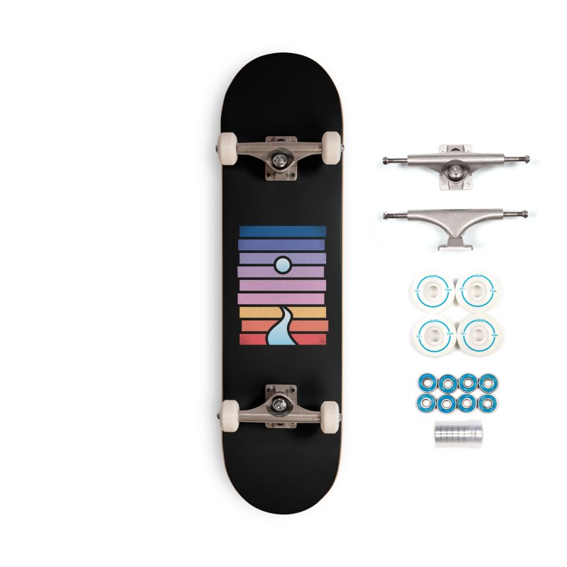 Moon. River. Accessories Complete - Basic Skateboard by heavyhand's Artist Shop