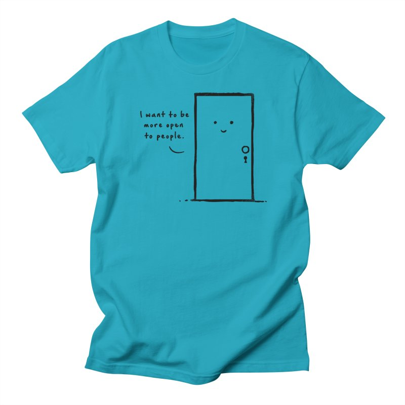 I want to be more open Women's Regular Unisex T-Shirt by heavyhand's Artist Shop