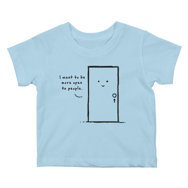 I want to be more open Kids Baby T-Shirt by heavyhand's Artist Shop