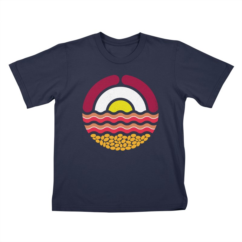 Start the day Kids T-Shirt by heavyhand's Artist Shop