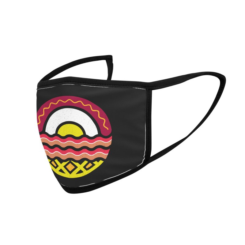 Breakfast at sunrise Accessories Face Mask by heavyhand's Artist Shop