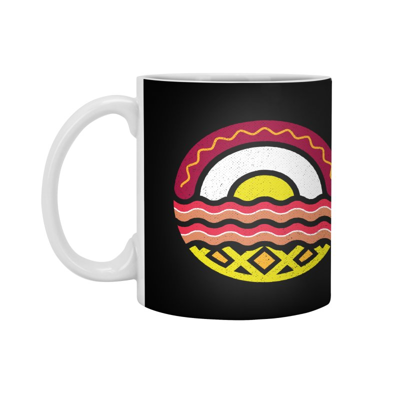 Breakfast at sunrise Accessories Mug by heavyhand's Artist Shop