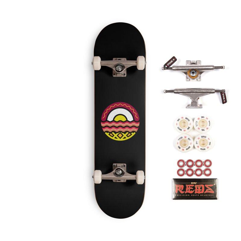 Breakfast at sunrise Accessories Skateboard by heavyhand's Artist Shop