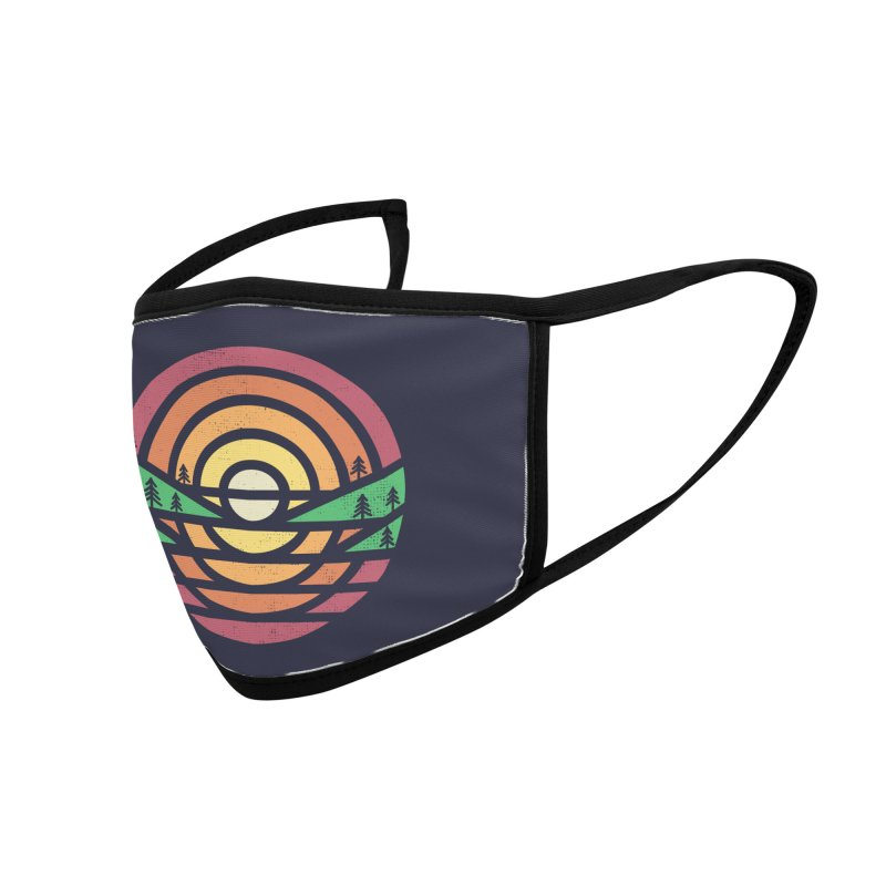Sunset Accessories Face Mask by heavyhand's Artist Shop