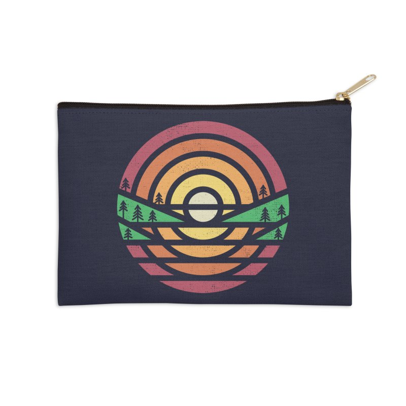 Sunset Accessories Zip Pouch by heavyhand's Artist Shop