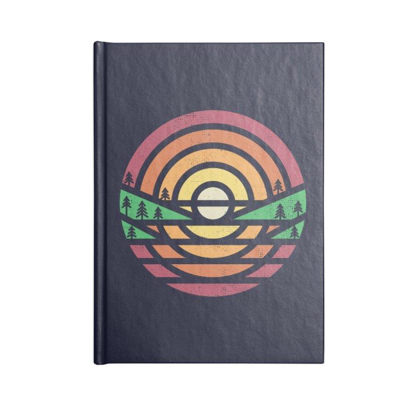 Sunset Accessories Notebook by heavyhand's Artist Shop