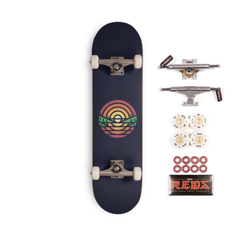 Sunset Accessories Skateboard by heavyhand's Artist Shop