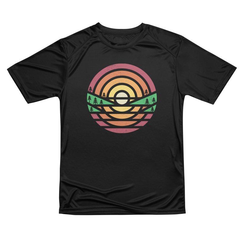 Sunset Men's T-Shirt by heavyhand's Artist Shop