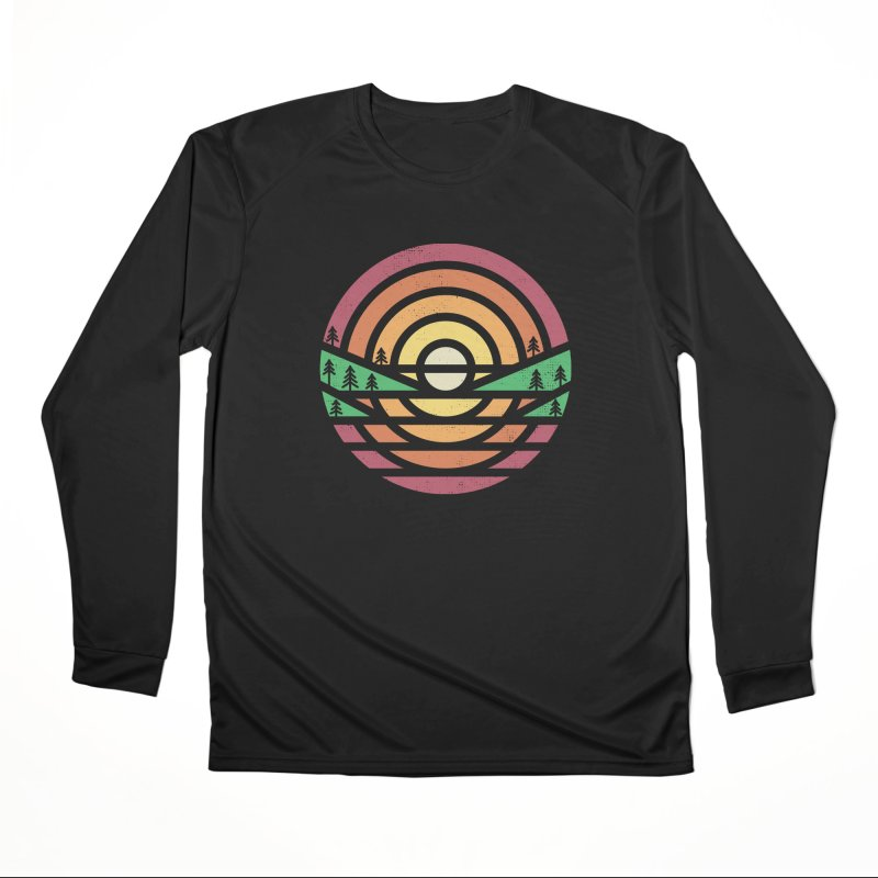 Sunset Men's Longsleeve T-Shirt by heavyhand's Artist Shop