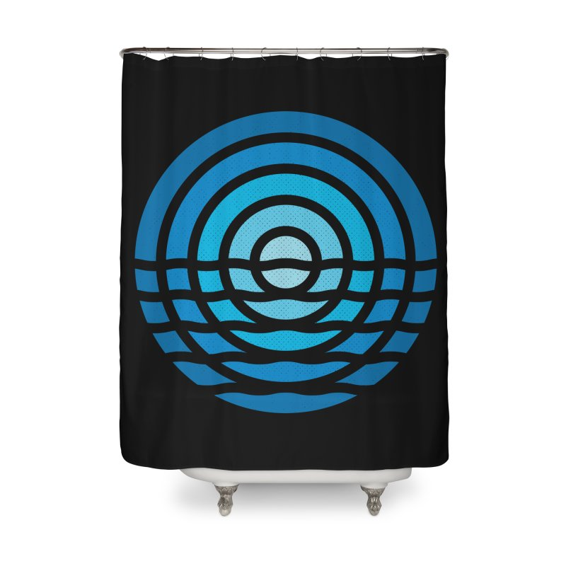 Moonrise Home Shower Curtain by heavyhand's Artist Shop