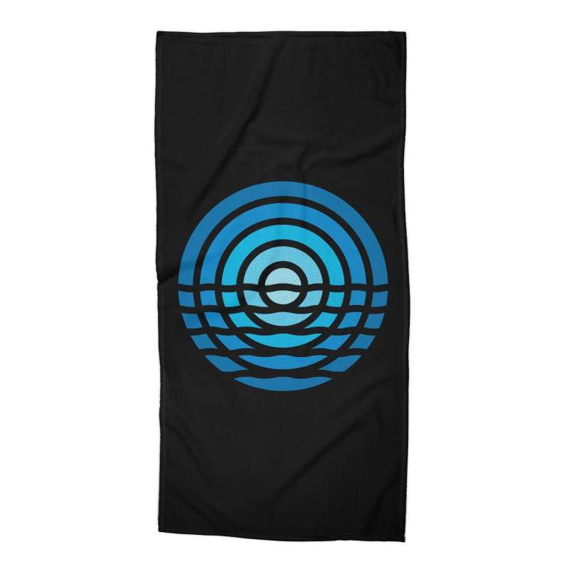 Moonrise Accessories Beach Towel by heavyhand's Artist Shop