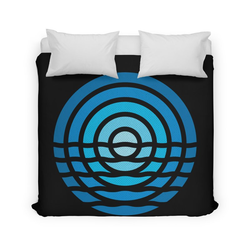 Moonrise Home Duvet by heavyhand's Artist Shop
