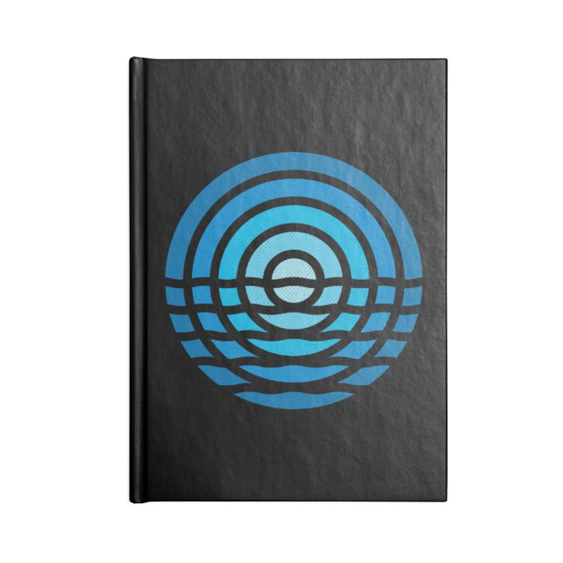 Moonrise Accessories Notebook by heavyhand's Artist Shop
