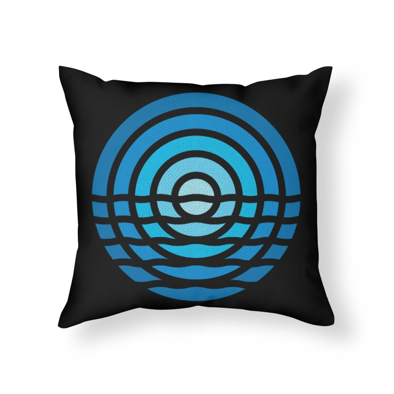 Moonrise Home Throw Pillow by heavyhand's Artist Shop