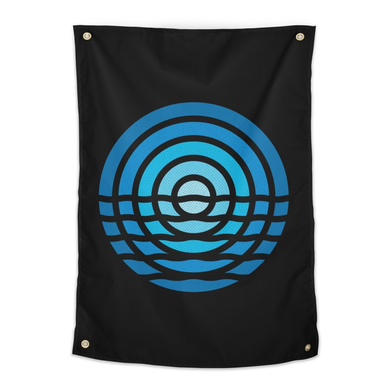 Moonrise Home Tapestry by heavyhand's Artist Shop