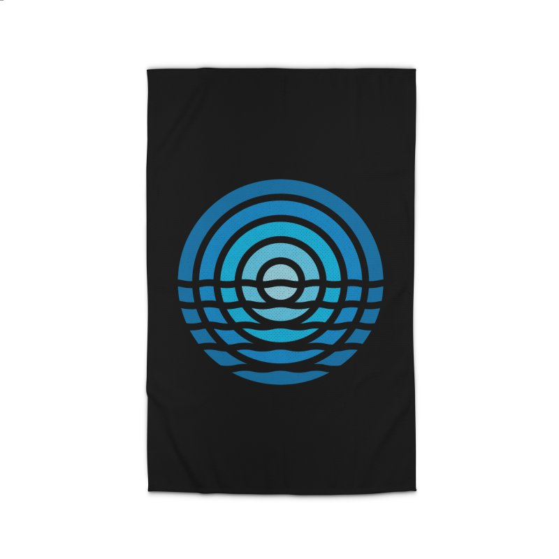 Moonrise Home Rug by heavyhand's Artist Shop