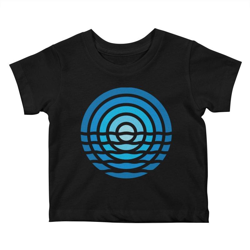 Moonrise Kids Baby T-Shirt by heavyhand's Artist Shop