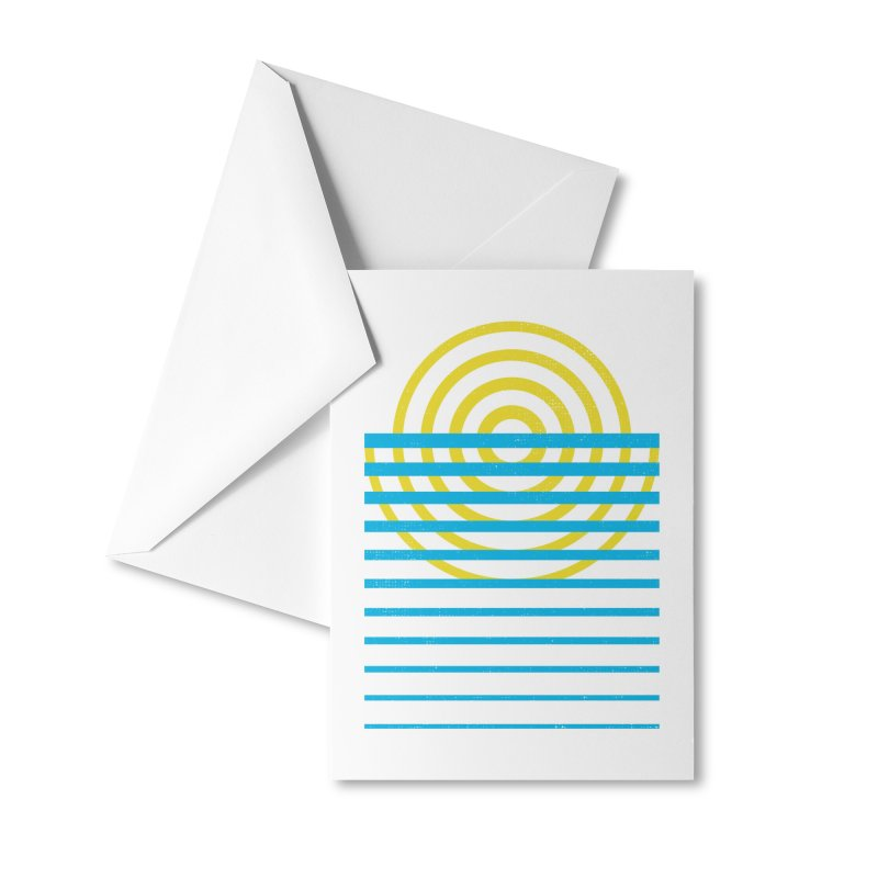 Radiate Accessories Greeting Card by heavyhand's Artist Shop