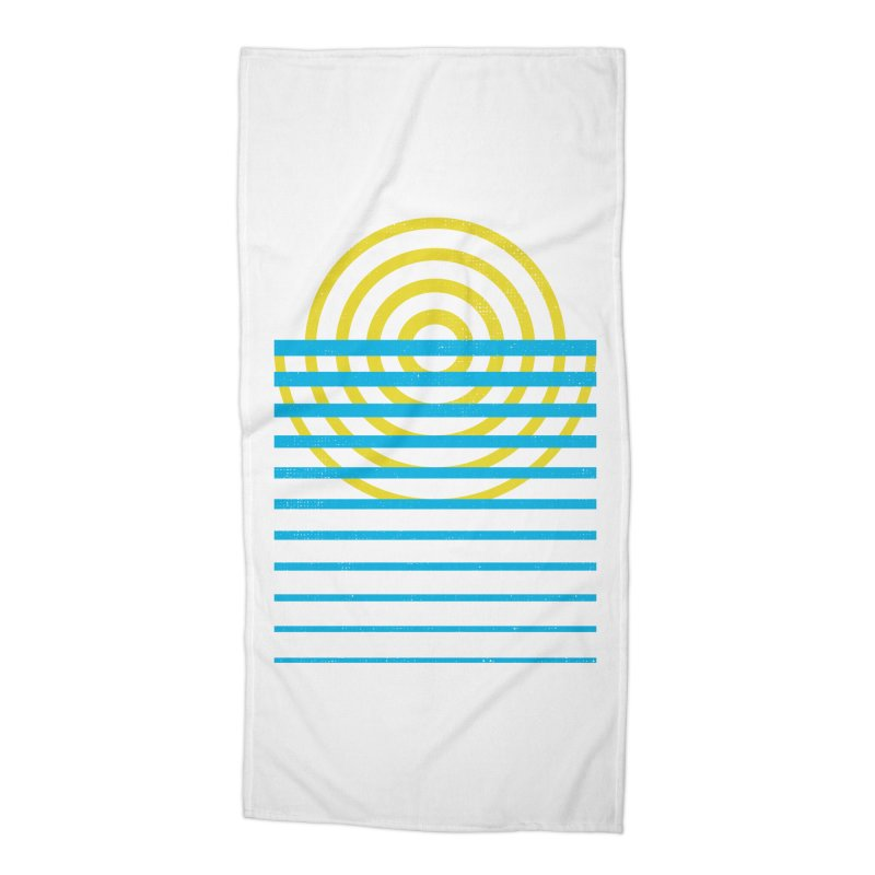 Radiate Accessories Beach Towel by heavyhand's Artist Shop