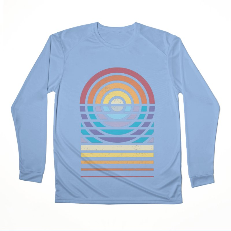 Sun Sea Sand Men's Longsleeve T-Shirt by heavyhand's Artist Shop