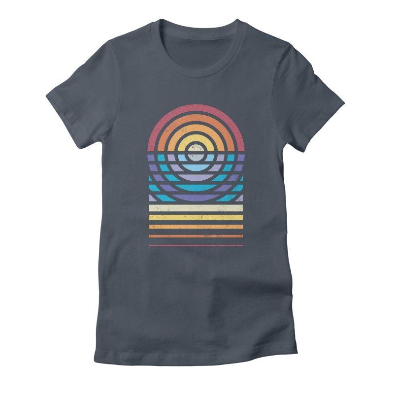 Sun Sea Sand Women's T-Shirt by heavyhand's Artist Shop